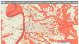 Using PolicyMap to Develop Data Driven Interventions for Vulnerable Population